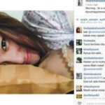 Foto Marshanda Tanpa Hijab Di Instagram