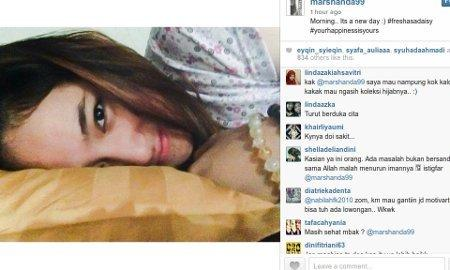 Marshanda Lepas Hijab Di Video Letter o God