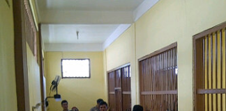KPUD Tarakan Mengunjungi Tahanan Polres Tarakan