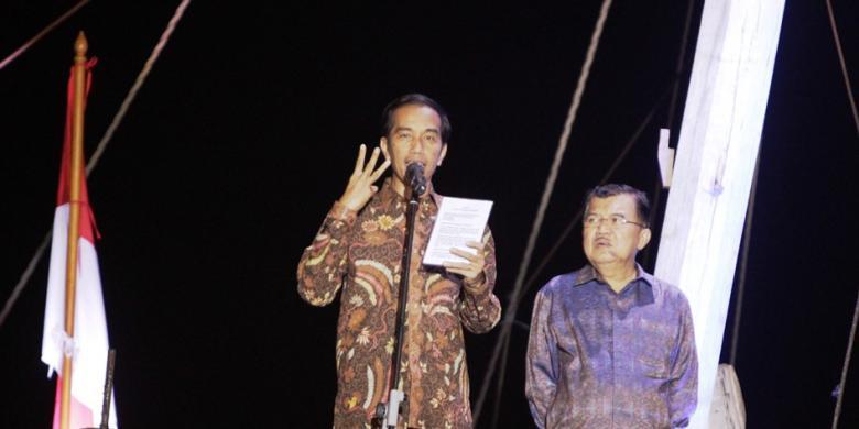 Pidato Perdana Jokowi Sebagai Presiden Indonesia 2014
