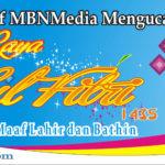 Ucapan_MBNMedia_Selamat Idul Fitri 1435 H