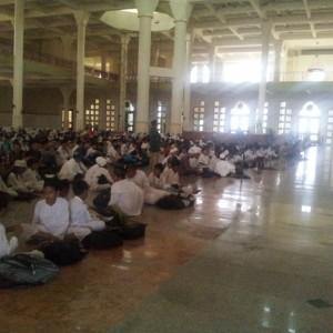 Pembukaan Pesantren Kilat Remaja yang dilaksanakan di Masjid Raya Baitul Izzah