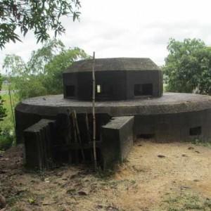 Bunker peninggalan perang dunia 2 menjadi salah satu tempat wisata sejarah yang perlu dikembangkan (run)