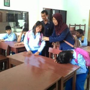 Anak-anak Difabel yang bersekolah di SLB Tarakan (run)