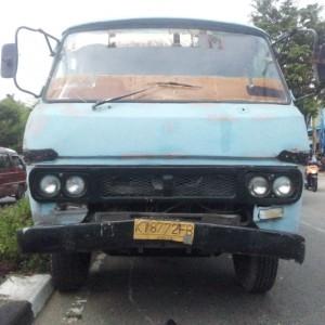 Salah satu truk tua di Tarakan (ctr)