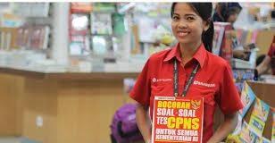 Buku panduan simulasi CAT yang dijual di Gramedia Tarakan Habis terjual.Mayoritas yang membeli buku tersebut adalah peserta yang akan mengikuti tes CPNS 2014. (HFA)