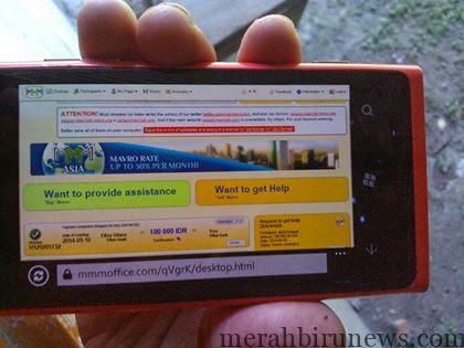 Sistem MMM Kembali normal Sejak 11 September 2014 (google)