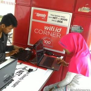 Pengguna wifi.id di Kota Tarakan