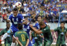 PSIS Semarang vs PSS Sleman (antara)
