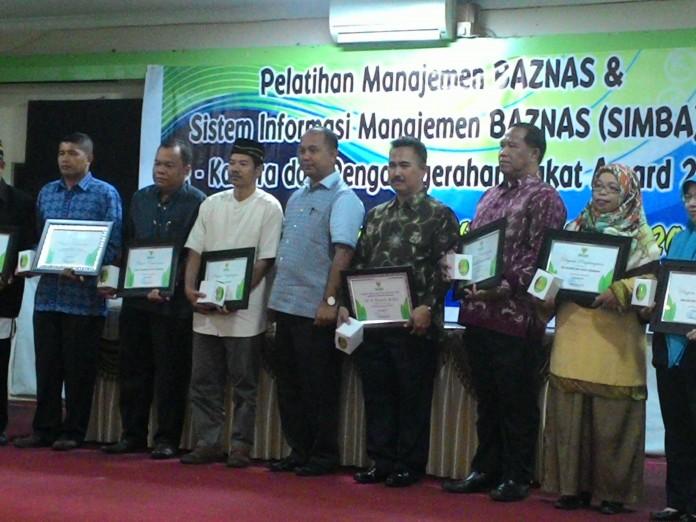 Penerima Zakat Award Dari Baznas Tarakan