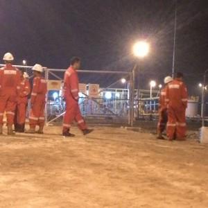 Karyawan MKI Tengah Mengupayakan Gas In (run)
