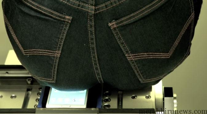 Tes Kekuatan Produk Samsung (youtube)