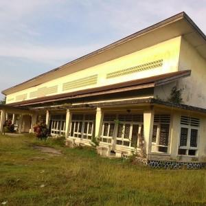 Mess jasa-jasa yang ada di kawasan Ladang ini akan menjadi kantor Korem Kaltara sementara (run)