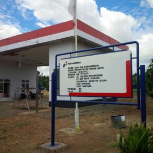 APMS Perintis Non Subsidi Per 1 Desember Sudah Beroperasi di Pulau Sebatik (Depo Pertamina Tarakan)