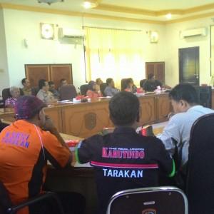 Buruh Gelar Hearing Pembahasan KHL di Seketariat DPRD Tarakan (run)