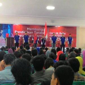 Pelantikan Relawan TIK Provinsi Kaltara Yang dilakukan di SMA Negeri 1 Tarakan (run)