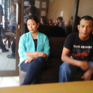 AP Saat dilaporkan ke Polres Tarakan (ctr)