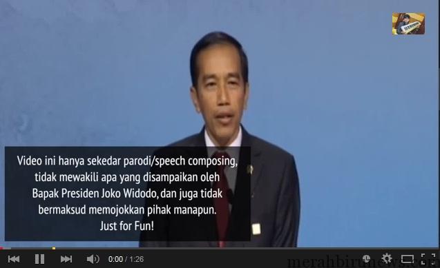 Speech Composing Presiden JOKOWI Nyanyi di APEC Beijing @EkaGustiwana