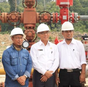 Walikota Sofian raga bersama dengan Ketua DPRD Tarakan Sabar Santoso saat mengunjungi MKI (hfa)