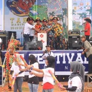 Meriah Kegiatan Tarakan Festival Maritim (TFM) di Pantai Amal Lama (hfa)