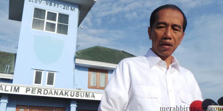 Jokowi Saat Di Bandara Halim Perdanakusuma (kompas.com)