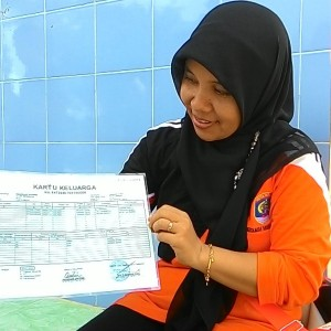 Kartu Keluarga Asli Tapi Palsu (aspal) Yang di Dapatkan Saat Razia KTP Di Sungai Bengawan (run)