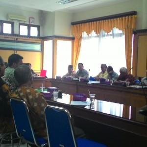 Rapat Koordinasi FKUB di Sekretariat Pemkot Tarakan Menolak Pembangunan Rumah Ibadah Berjiwa (run)