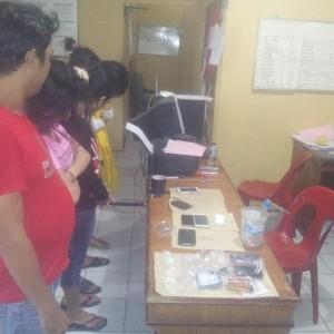 Asyik pesta Sabu, Hotel Prodeo Menanti Ke 5 Tersangka Yang Tengah Diproses Di Satreskoba Polres Tarakan (ctr)