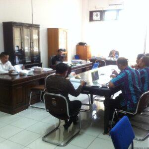 Bersama Dengan Komisi 2 DPRD Tarakan, Disdik Membahas Penurunan Anggaran Yang Berdampak Kepada Insentif Guru Non PNS (hfa)
