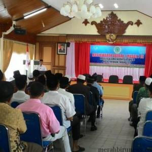 Musda III MUI Tarakan yang dibuka Walikota Tarakan Sofian Raga (run)