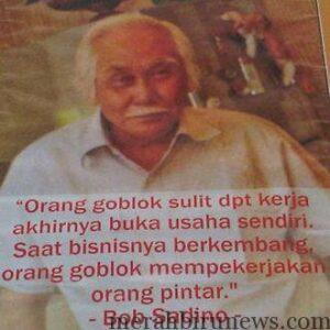 Almarhum Bob Sadino