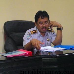 Kepala Dishub Tarakan Ir.Suparlan,M.T Siap Meninjau Ulang Tarif Angkot Tarakan Pasca Turunnya Harga BBM Jenis Premium (run)