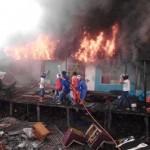Musibah Kebakaran Kembali Melalap Selumit Pantai Tarakan