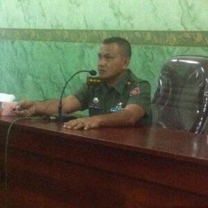 Komandan Kodim 0907/TRK Letkol Irfan Sidiq (hfa)