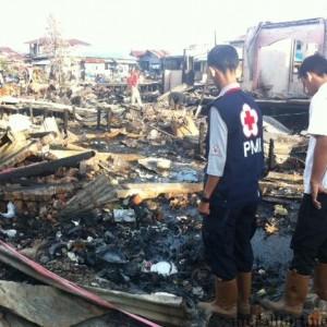 Lokasi kebakaran RT 3 Karang Rejo (hfa)