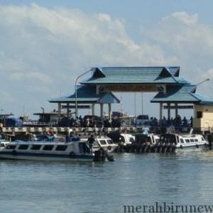 Pelabuhan Tengkayu I (SDF) Akibat Banjir Bandang Di Kabupaten Bulungan, Speedboat Penumpang Jurusan Tarakan - Tanjung Selor Sementara Waktu Tidak Beroperasi Demi Keselamatan