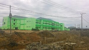 Rumah Sakit Umum Daerah Tipe C Kota Tarakan Dalam Tahap Finsihing Pembangunan (run)