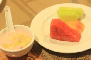es melon mutiara dan  buah (hfa)