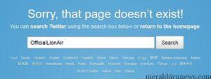 Tweet Heboh Akun @OfficialLionAir Dihapus
