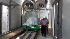 Salah Satu Ruangan Yang Nantinya Digunakan Untuk Menempatkan Mesin Baru Berkapasitas 3,3 Megawatt (run)