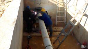 PT.MKI Tengah Melakukan Hot Tapping Sehingga Pasokan Gas ke PLN dihentikan Sementara (run)