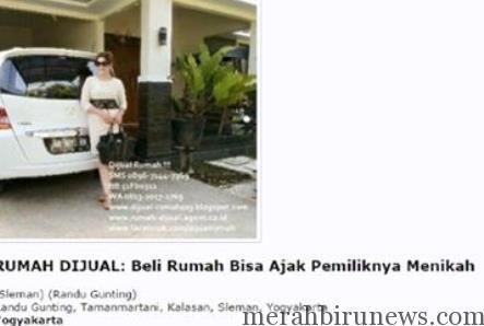 Iklan Beli Rumah Bisa Ajak Pemiliknya Menikah