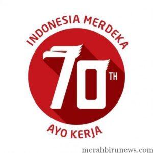 Logo 70 Tahun Kemerdekaan Indonesia (int)