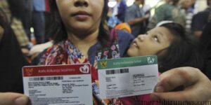 Kartu Indonesia Sehat/berwarna hijau (merdeka.com)