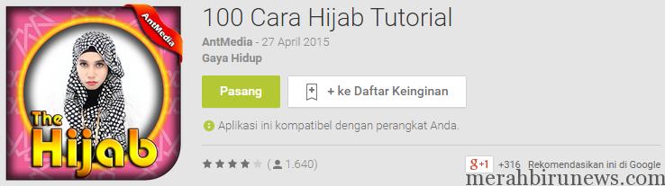 Aplikasi hijab: 100 Cara Hijab Tutorial   Apl Android di Google Play