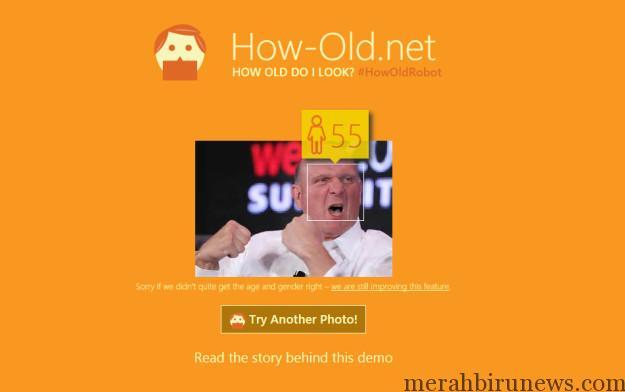 How-Old.Net Situs Yang Bisa Tebak Umur Dari Photo Mendadak Populer