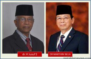 Jusuf SK - Marthin Billa Bersatu Untuk Maju Pada Pemilihan Gubernur Kaltara