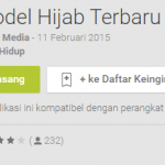 Model Hijab Terbaru Apl Android di Google Play
