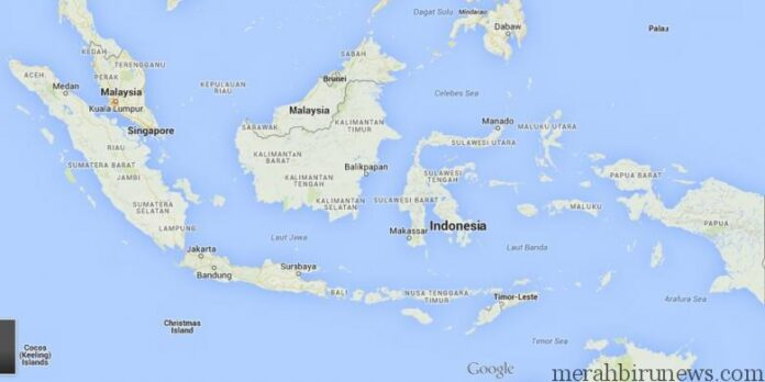 Peta_Indonesia (googlemap)