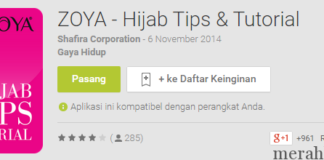 ZOYA Hijab Tips Tutorial Apl Android di Google Play